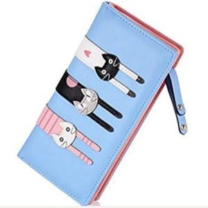 Handbags - Two sided kitty wallet